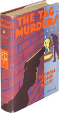 Books:Mystery & Detective Fiction, Carroll John Daly. The Tag Murders. New York: Edward J.Clode, 1930. First edition....