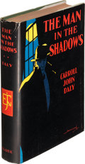 Books:Mystery & Detective Fiction, Carroll John Daly. The Man in the Shadows. New York: EdwardJ. Clode, 1928. First edition....
