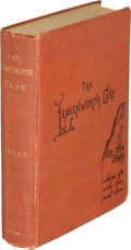 Books:Mystery & Detective Fiction, Anna Katharine Green. The Leavenworth Case. A Lawyer's Story. New York: G. P. Putnam's Sons, 1878. First edition...