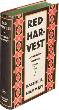 Dashiell Hammett. Red Harvest. New York: Alfred A. Knopf, 1929. First edition