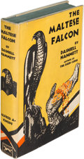 Books:Mystery & Detective Fiction, Dashiell Hammett. The Maltese Falcon. New York: Alfred A.Knopf, 1930. First edition....