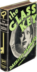 Books:Mystery & Detective Fiction, Dashiell Hammett. The Glass Key. New York: Alfred A. Knopf,1931. First U. S. edition, second o...