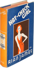 Books:Mystery & Detective Fiction, Rian James. Hat-Check Girl. New York: Alfred H. King,[1932]. First edition....