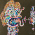 Fine Art - Work on Paper:Print, Takashi Murakami (b. 1962). Homage to Francis Bacon (Study forHead of Isabel Rawsthorne and George Dyer) (two works), 2...
