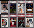 Football Cards:Lots, 2000-2014 Football Stars & Hall of Famers Graded Collection (8) - Includes Rookies & Autographs....