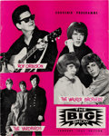 Music Memorabilia:Memorabilia, Yardbirds (Jimmy Page)/Roy Orbison Concert Program (1967). Rare....