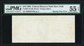Error Notes:Blank Reverse (100%), Missing Back Print Error Fr. 2027-B $10 1985 Federal Reserve Note. PMG About Uncirculated 55 EPQ.. ...