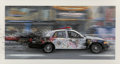 Fine Art - Work on Paper:Print, Mr. Brainwash (French, b. 1966). Metro Polisa, 2015.Screenprint in colors on hand torn archival paper. 25 x 46 inches(...