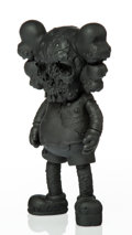 Collectible:Contemporary, KAWS X Pushead. Companion (Black), 2005. Painted cast vinyl. 10-3/4 x 5-1/2 x 2-1/2 inches (27.3 x 14 x 6.4 cm). Stamped...