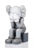 Collectible:Contemporary, KAWS (American, b. 1974). Passing Through Companion (Grey), 2013. Painted cast vinyl. 11-1/2 x 6-1/2 x 7-1/2 inches (29....