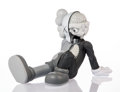 Collectible:Contemporary, KAWS (American, b. 1974). Resting Place Companion (Grey), 2013. Painted cast vinyl. 8-1/2 x 9 x 11-1/2 inches (21.6 x 22...