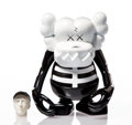Collectible:Contemporary, KAWS X Bounty Hunter. Skull Kun (Black/White), 2006. Painted cast vinyl. 6-1/2 x 5-1/4 x 3-1/4 inches (16.5 x 13.3 x 8.3...
