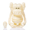 Collectible:Contemporary, KAWS X Bounty Hunter. Skull Kun (Glow in the Dark), 2006. Painted cast vinyl. 6-1/2 x 5-1/4 x 3-1/4 inches (16.5 x 13.3 ...