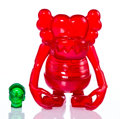 Collectible:Contemporary, KAWS X Bounty Hunter. Skull Kun (Red), 2006. Cast Vinyl. 6-1/2 x 5-1/4 x 3-1/4 inches (16.5 x 13.3 x 8.3 cm) (toy). 1-1/...