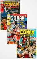 Bronze Age (1970-1979):Adventure, Conan the Barbarian #2-10 Group (Marvel, 1970-71) Condition: Average VG/FN.... (Total: 9 Comic Books)