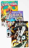 Modern Age (1980-Present):Miscellaneous, Marvel Modern Age 3/4 Long Box (Marvel, 1980s) Condition: Average VF....