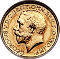 Great Britain, Great Britain: George V gold Proof Sovereign 1911 PR63 NGC,...
