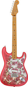 Music Memorabilia:Instruments, Fender Stratocaster Guitar Signed by Brad Paisley with Gig Bag andMagazines with More Paisley Autographs. ...