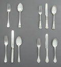 Silver & Vertu:Flatware, Four British and American Youth Silver Flatware Sets, late 19th-early 20th century. Marks: (Various British and American). 7... (Total: 4 Items)