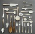 Silver Flatware, American:Kirk, A Ninety-Six-Piece S. Kirk & Son Repoussé Pattern SilverFlatware Service for Twelve, Baltimore, Maryland, desig... (Total:89 Items)