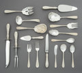 Silver & Vertu:Steiff, An Eighty-Three-Piece Stieff Co. Rose Pattern Silver Flatware Service for Twelve, Baltimore, Maryland, introduce... (Total: 83 Items)