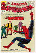 Silver Age (1956-1969):Superhero, The Amazing Spider-Man #10 (Marvel, 1964) Condition: VG/FN....
