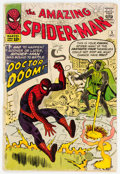 Silver Age (1956-1969):Superhero, The Amazing Spider-Man #5 (Marvel, 1963) Condition: GD-....