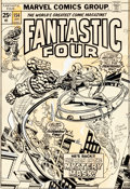 Original Comic Art:Covers, Gil Kane, Frank Giacoia, and Mike Esposito Fantastic Four#154 Cover Original Art (Marvel, 1975)....