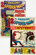 Silver Age (1956-1969):Superhero, The Amazing Spider-Man #13 and 15 Group (Marvel, 1964).... (Total: 2 Comic Books)