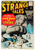 Silver Age (1956-1969):Adventure, Strange Tales #70 (Marvel, 1959) Condition: VG....