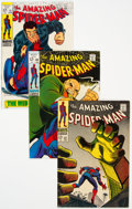 Silver Age (1956-1969):Superhero, The Amazing Spider-Man Group of 8 (Marvel, 1968-70) Condition: Average FN.... (Total: 8 Comic Books)