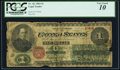 Large Size:Legal Tender Notes, Fr. 16c $1 1862 Legal Tender PCGS Very Good 10.. ...