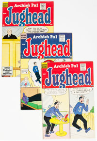 Archie's Pal Jughead Group of 4 (Archie, 1960) Condition: Average VF.... (Total: 4 Comic Books)