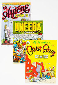 Robert Crumb-Related Underground Comix Group of (Various Publishers, 1960s-70s).... (Total: 8 Comic Books)
