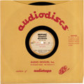 "Music Memorabilia:Recordings, Bob Dylan ""Blowin' In the Wind"" Rare 10"" Acetate (circa 1960s)...."