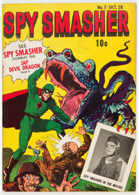 Spy Smasher #7 (Fawcett Publications, 1942) Condition: VG/FN