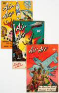Golden Age (1938-1955):Superhero, Air Ace Group of 4 (Street & Smith, 1944-47).... (Total: 4 Comic Books)