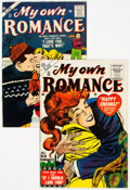 Golden Age (1938-1955):Romance, My Own Romance #43 and 57 Group (Atlas, 1955-57).... (Total: 2 Comic Books)
