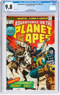 Bronze Age (1970-1979):Miscellaneous, Adventures on the Planet of the Apes #1 (Marvel, 1975) CGC...