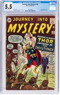 Silver Age (1956-1969):Superhero, Journey Into Mystery #84 (Marvel, 1962) CGC FN- 5.5 Off-white to white pages....