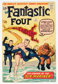 Silver Age (1956-1969):Superhero, Fantastic Four #4 (Marvel, 1962) Condition: PR....