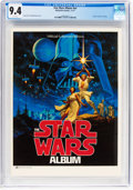 Magazines:Science-Fiction, The Star Wars Album #nn (Ballantine Books, 1977) CGC NM 9.4 White pages....
