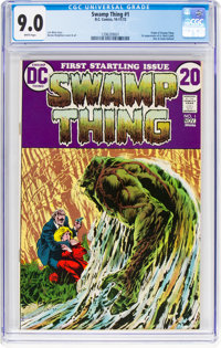 Swamp Thing #1 (DC, 1972) CGC VF/NM 9.0 White pages