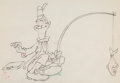 Animation Art:Production Drawing, Mother Goose Goes Hollywood Stan Laurel Animation Drawing(Walt Disney, 1938). ...