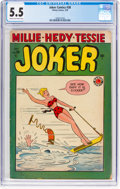 Golden Age (1938-1955):Humor, Joker Comics #38 (Timely, 1949) CGC FN- 5.5 Cream to off-white pages....