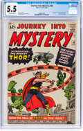 Silver Age (1956-1969):Superhero, Journey Into Mystery #83 (Marvel, 1962) CGC FN- 5.5 Off-whitepages....