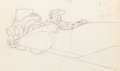 Animation Art:Production Drawing, Mickey's Rival Mortimer Mouse Animation Drawing (WaltDisney, 1936)....