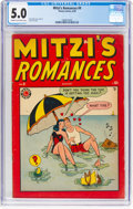Golden Age (1938-1955):Romance, Mitzi's Romances #9 (Timely, 1949) CGC VG/FN 5.0 Cream to off-whitepages....