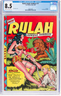 Golden Age (1938-1955):Adventure, Rulah Jungle Goddess #17 (Fox Features Syndicate, 1948) CGC VF+ 8.5 Cream to off-white pages....
