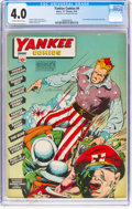 Golden Age (1938-1955):Superhero, Yankee Comics #4 (Chesler, 1942) CGC VG 4.0 Slightly brittle pages....
